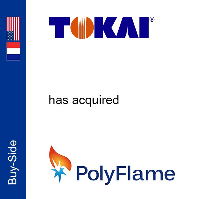 Exclusive financial advisor to Tokai on its acquisition of Polyf