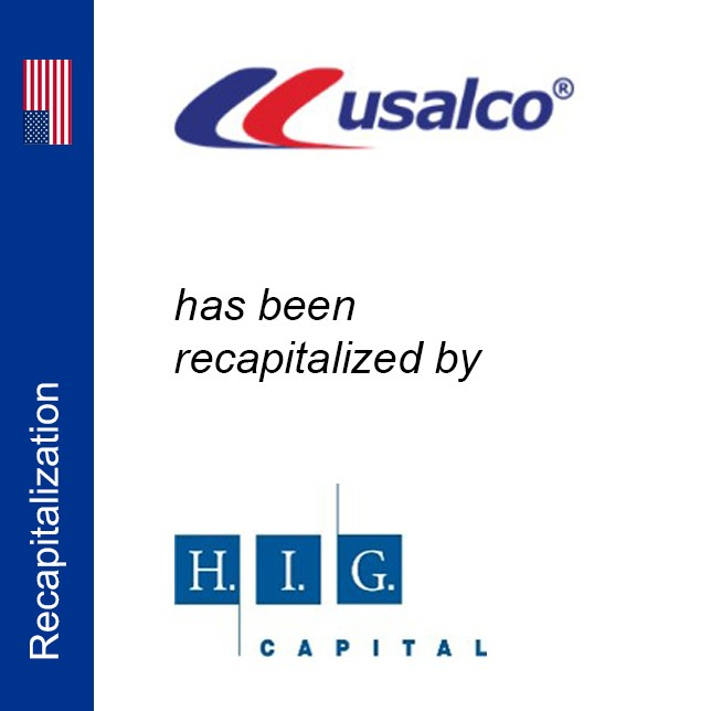 Exclusive financial advior to USALCO, LLC